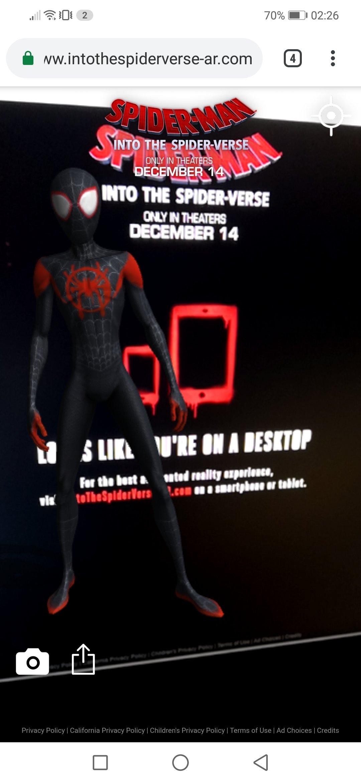 Spiderman verse
