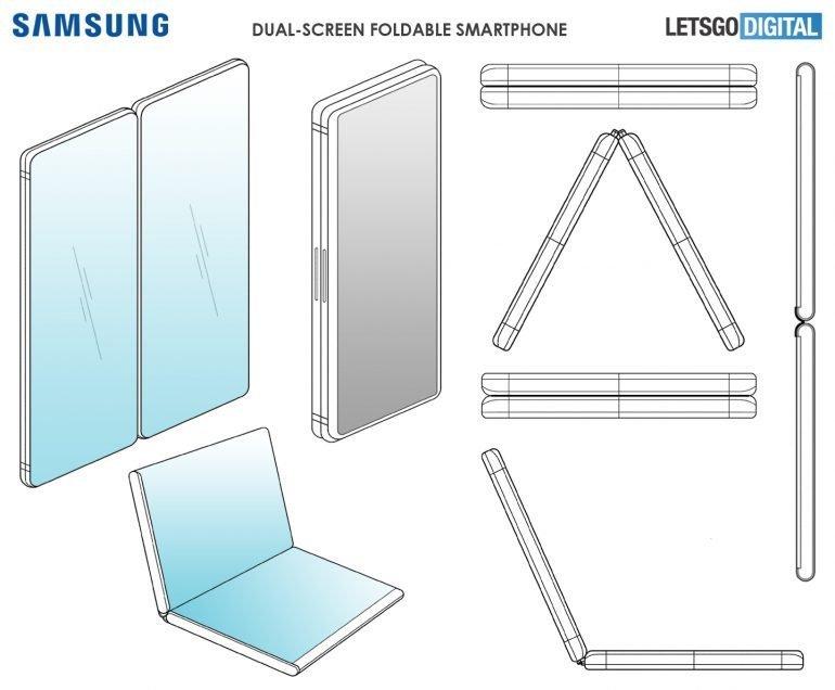 Samsung skládací telefon