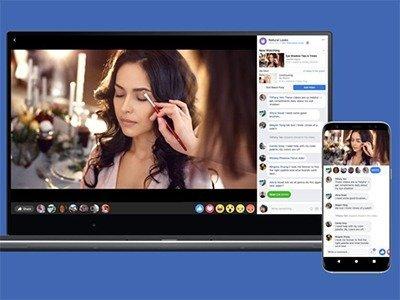 Facebook video párty