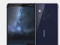 Rendery Nokia 9 s 360 stupňovým videem.