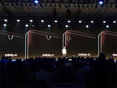 Typy displejů Samsung