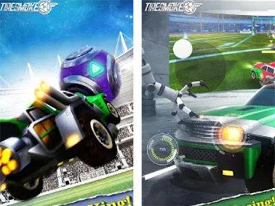 Android závodní hra Tires