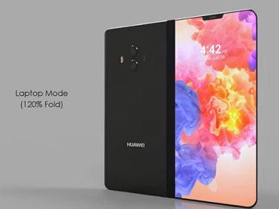 Huawei skládaný telefon