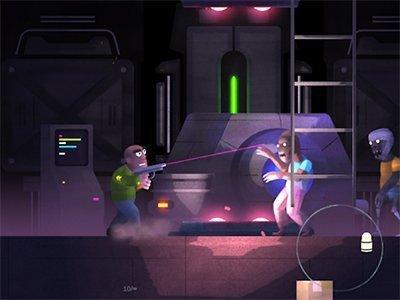 Android akční hra Don Zombie