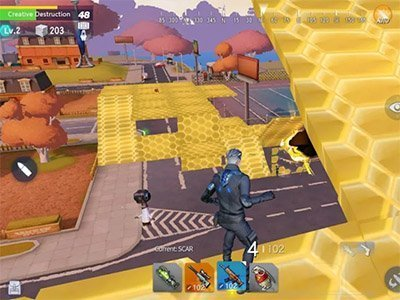 Android hra Creative Destruction Advance