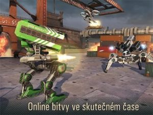 Android hra WWR: World of Warfare Robots