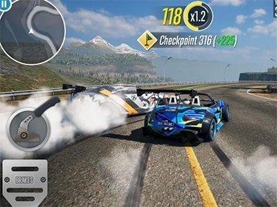 Android závodní hra CarX Drift Racing 2