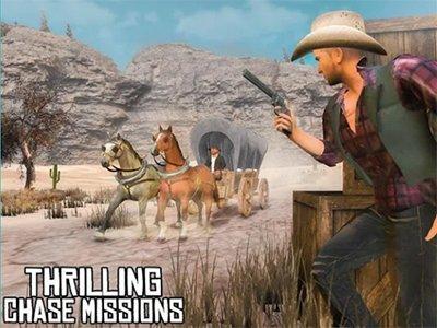 Android hra Wild West Gunslinger Cowboy Rider
