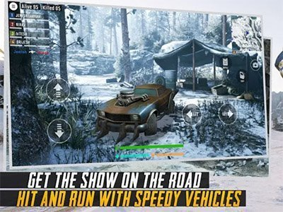 Android hra Blood Rivals 2: Vánoční Survival Shooter