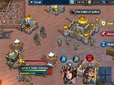 Android strategie Empires:The Rise