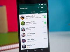 WhatsApp s módem obraz v obraze je tady