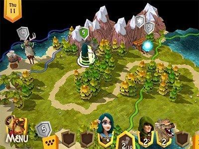 Android hra Heroes of Flatlandia