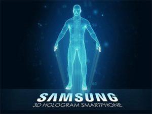3D Hologram Samsung