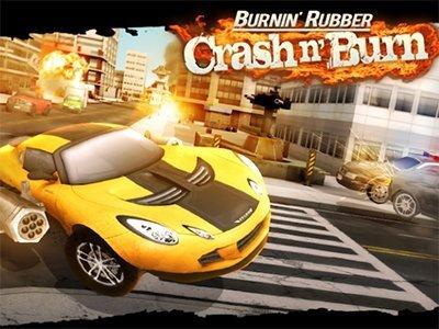 Závodní hra Burnin' Rubber Crash n' Burn