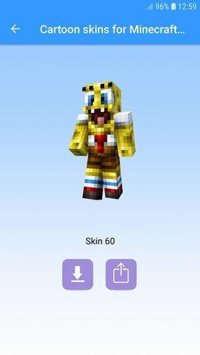 Aplikace Cartoon skins