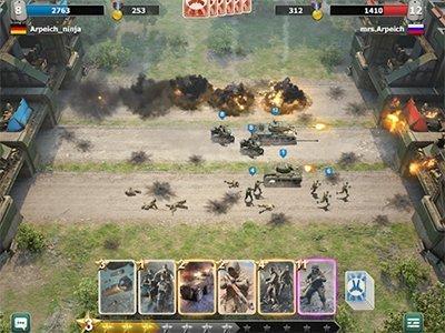 Strategie Trench Assault