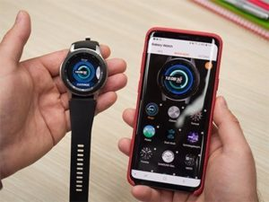 Chytré hodinky Samsung s Tizen OS