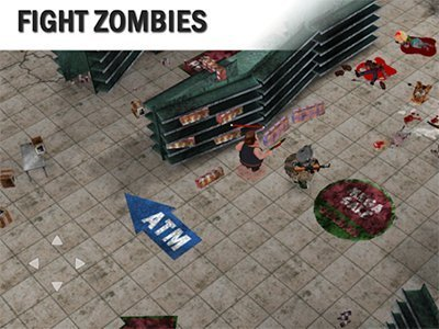 Hra Černý pátek: obchody s zombiemi