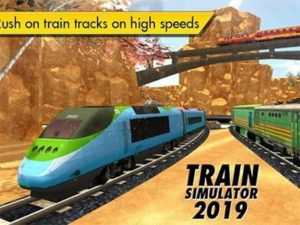 Android simulátor Train Simulator 2019