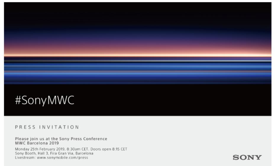 Sony MWC 2019