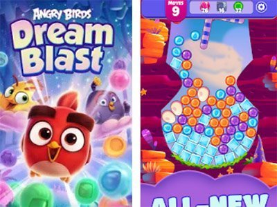 Android hra Angry Birds Dream Blast