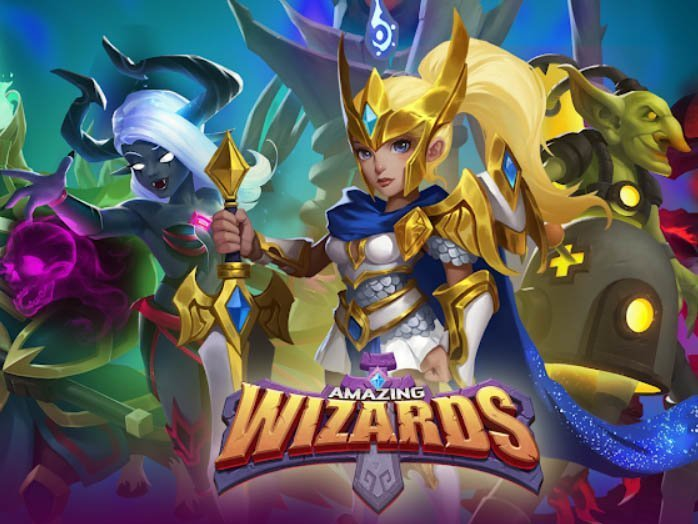 Strategická android hra Amazing Wizards