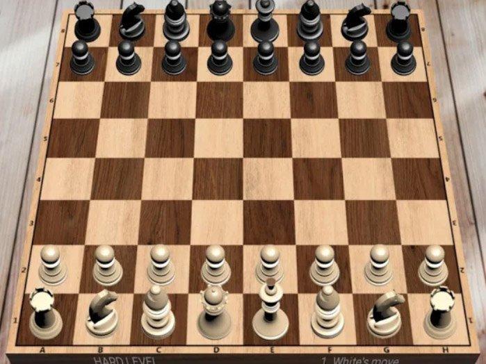 Android hra Šachy