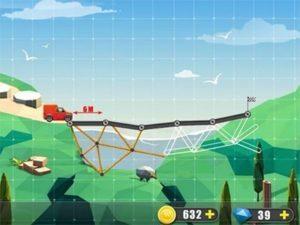 Android logická hra Elite Bridge Builder
