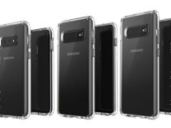 Samsung Galaxy S10E, S10 a S10+ na renderech