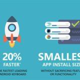 SwiftKey oznámil vylepšení rychlosti ve své Android aplikaci