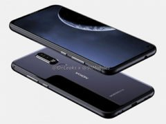 Rendery Nokia 8.1 Plus s dírou v displeji