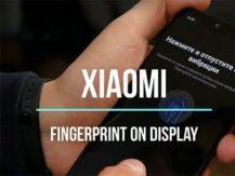 Šéf Xiaomi ukázal snímač otisků prstů přes celý displej