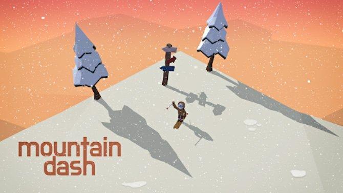 Android hra Mountain Dash