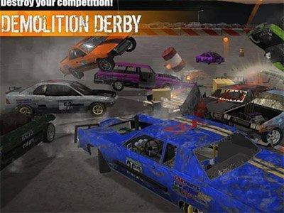 Android hra demoliční derby