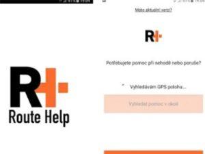 Pomoc při nehodě aplikace android