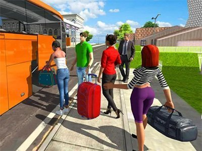Android hra Bus Simulator