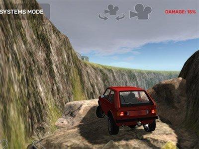 Hra Dirt Trucker 2: Climb The Hill