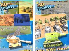 Hra SD Tank war