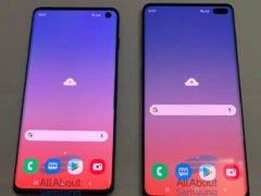 Samsung Galaxy S10 a S10+ na reálných fotografiích