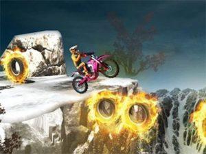 Android závodní hra Bike Stunts 2019
