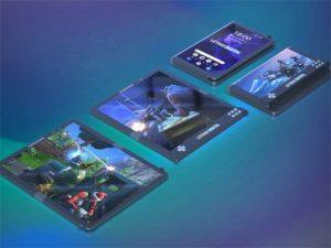 Ohebný herní telefon Samsung