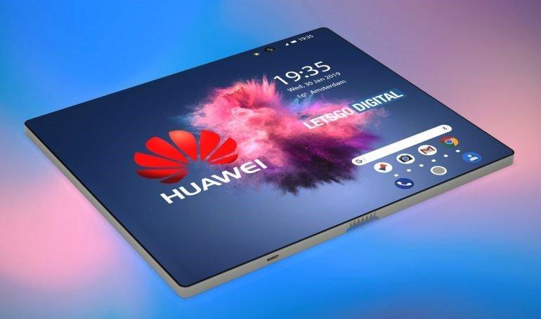 Huawei skládací telefon