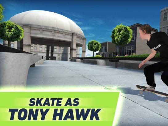 Android sportovní hra Tony Hawk