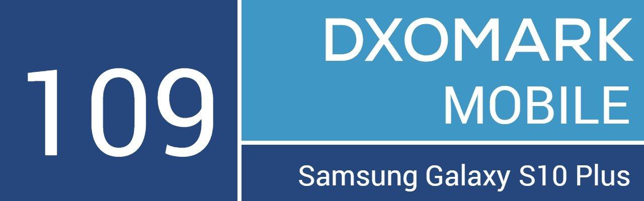 DxoMark Samsung Galaxy S10 Plus