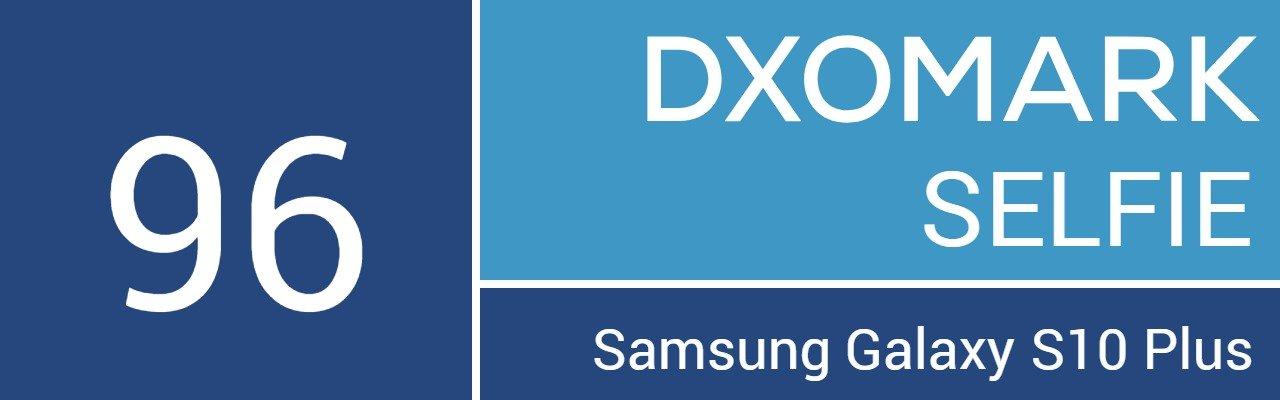 DxOMark selfie foto Galaxy S10+