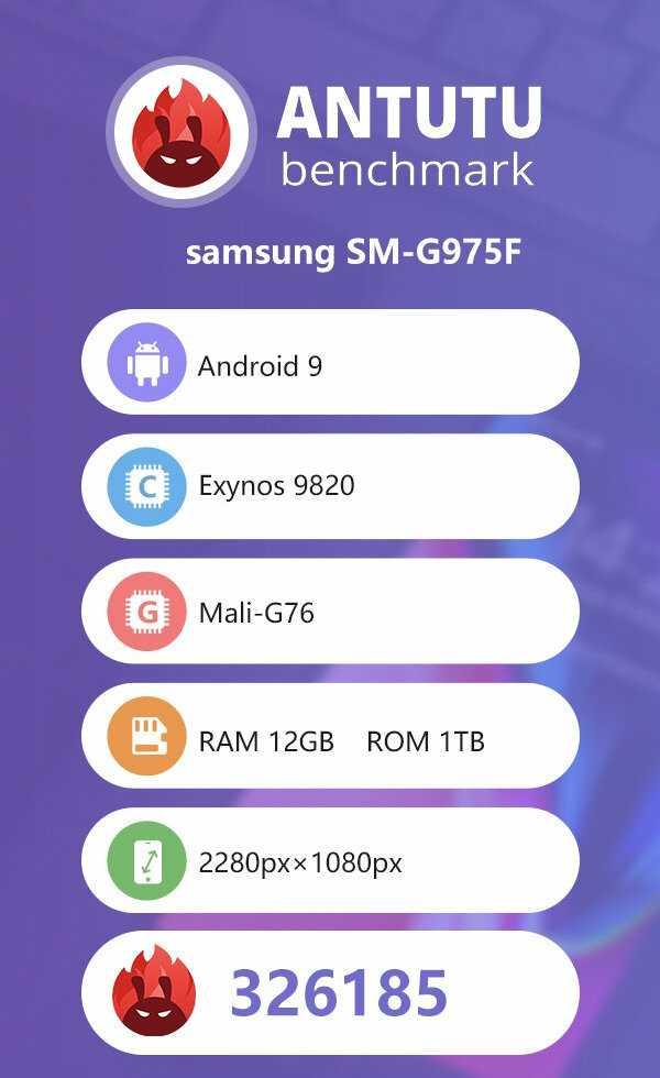 Samsung Galaxy S10+ 12GB RAM