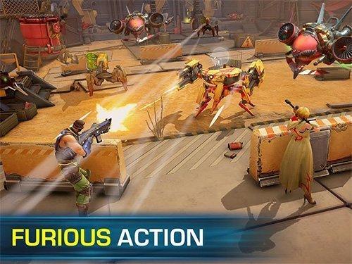 Android akční hra Evolution 2