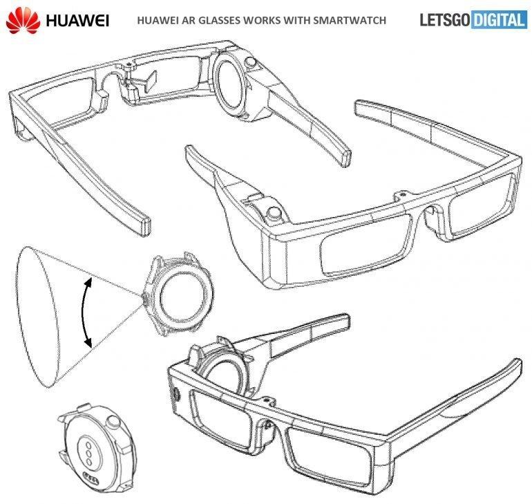 Huawei rozšířená realita brýle