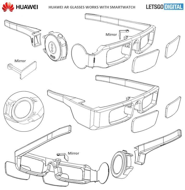 Huawei rozšířená realita