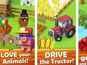 Hra Blocky farm